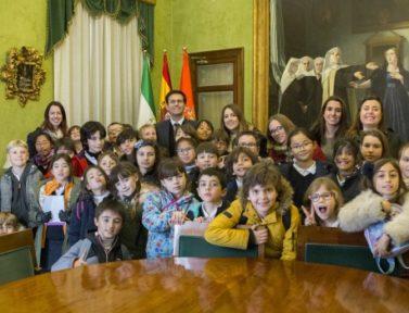 Visitamos el Excmo. Ayuntamiento de Granada
